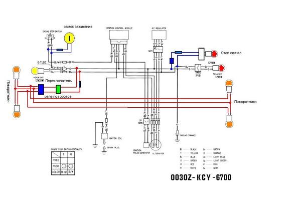 Схему электрики модифицирую