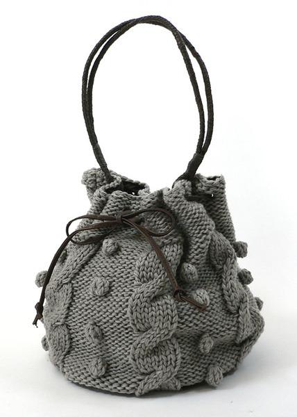 вязание крючком маленькая сумочка