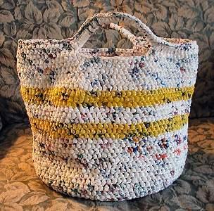 сумки вязанные крючком из пакетов - Сумки.