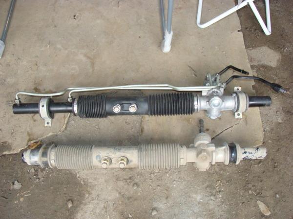 Ремонт рулевой рейки с гур на ланосе своими руками 144