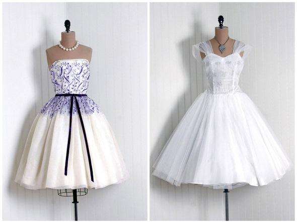 Так платье в стиле 50 х с пышной юбкой