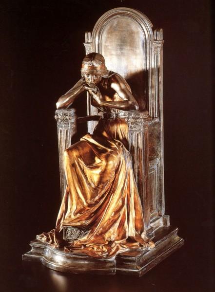 Фото Шалон, Луи    Мечты принцессы, бронза, позолота, посеребрение