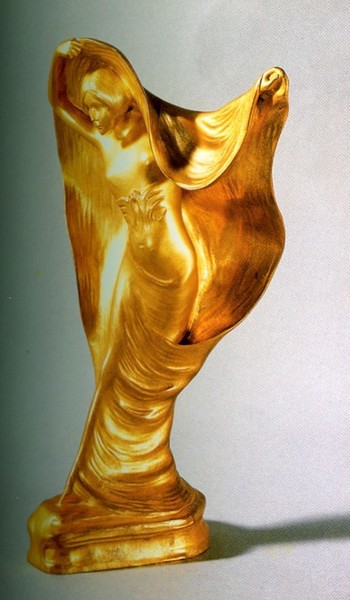 Фото Леви, Альбер    Лойе Фюллер, бронза, позолота