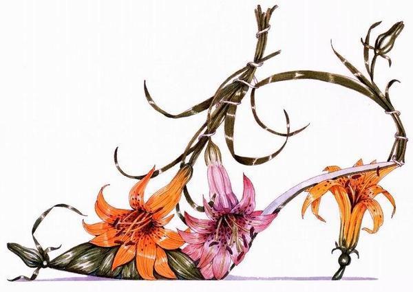 И лилиями этот цветок символ