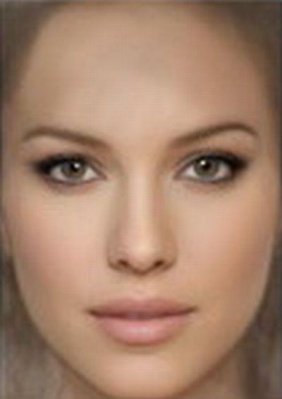лица анфас фото