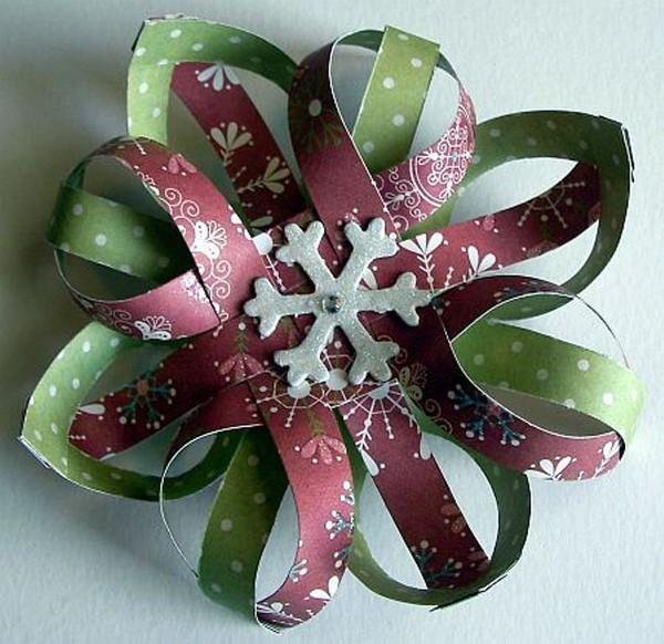 Как сделать красивые объемные снежинки из бумаги