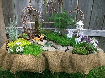 Заманите фею в сад