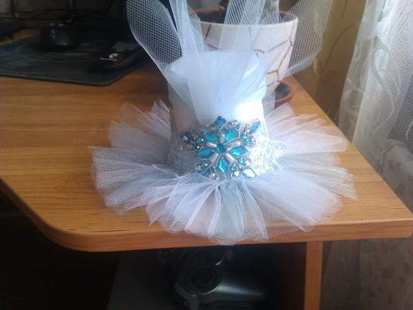 Как сделать цветок из ткани на платье