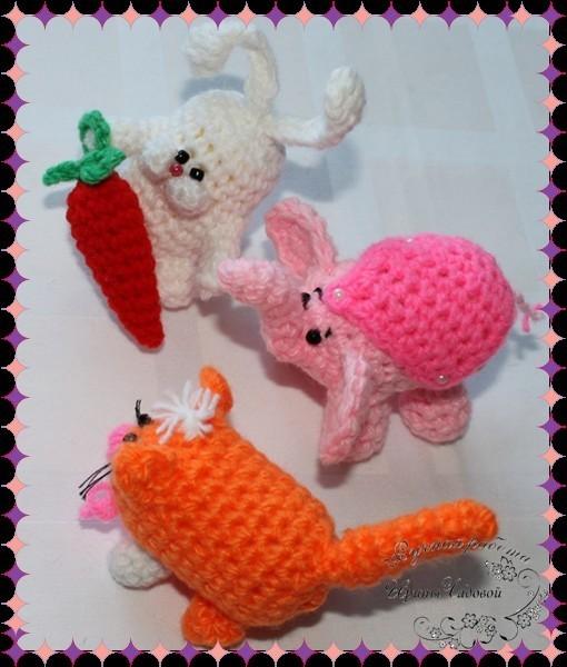 Вязание игрушки для начинающих