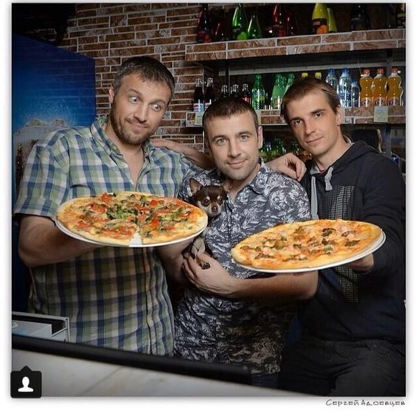 Фотосессия пиццерии Алексея Адеева