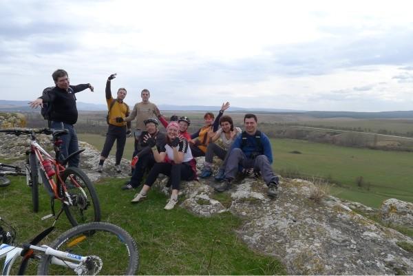 От Белогорска до Судака на велосипеде.
