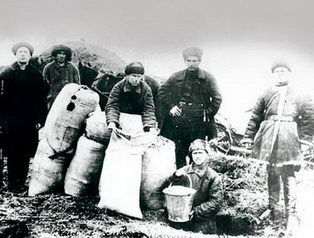 1930. Конфискация хлеба