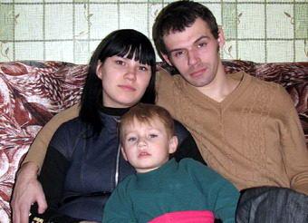 Сергей Пчелинцев в семье