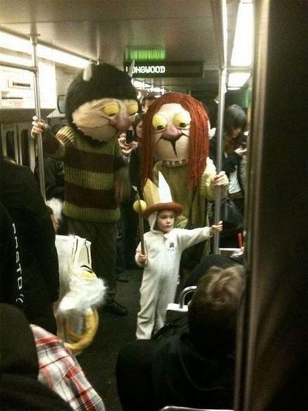 Смехота-23 Смешное фото в метро