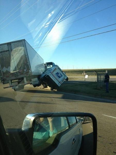 Смехота-23 Автомобили столкнулись - нелепая авария