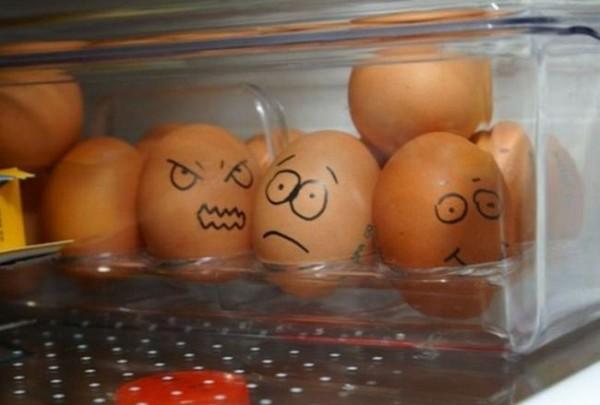 Смехота-23 Смешные яйца в холодильнике