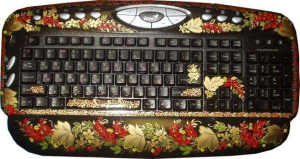 Смехота-23 клавиатура под хохлому