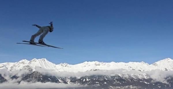 Смехота-23 Красивое фото горнолыжника