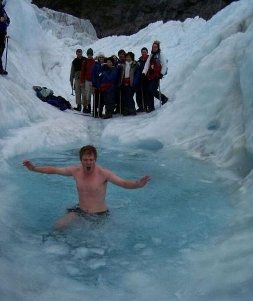 Смехота-23 Придурок в ледяной воде