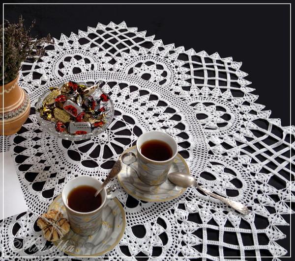 Скатерть на чайный столик