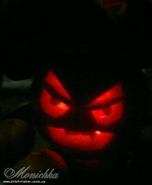 Джек-вампир для Хэллоуина