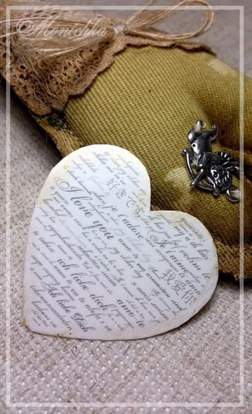 Сердце Романтичного мужчины. Мини-валентинка