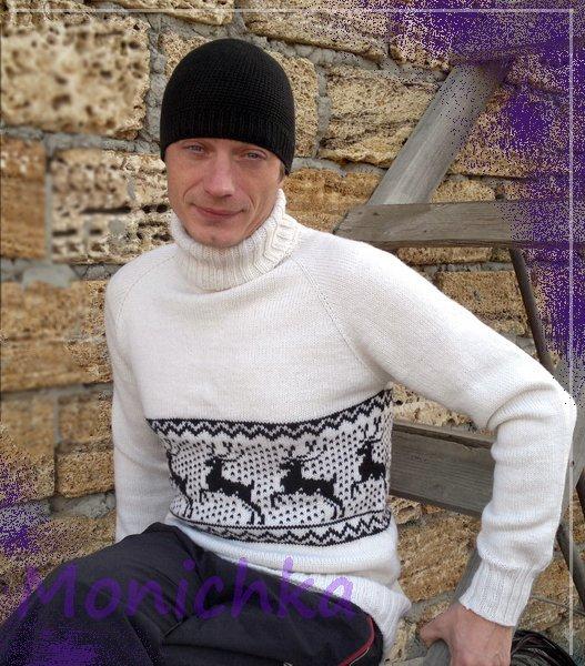 Детский свитер с оленями. moz-natashaКомментарии. Это цитата сообщения