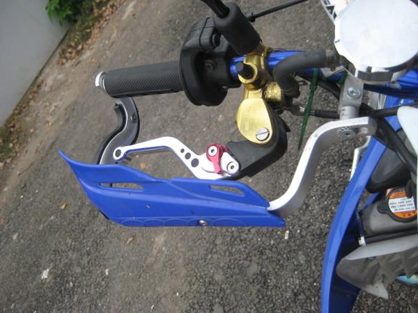 Защита руля на мотоцикл своими руками