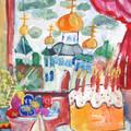 Пасха - один из самых больших христианских праздников.  Еще издревле на Руси все ждали прихода Светлой недели и
