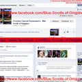 Overview page of Facebook-small site `Голубые Свитки Омджпинета - Blue Scrolls of Omjpinet`