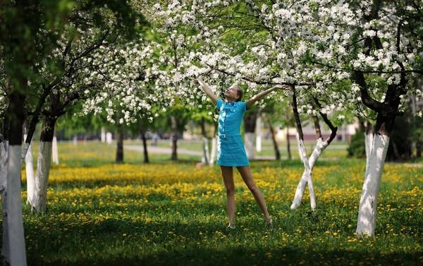 بنات الريف الجميلات, الطبيعة وبنات