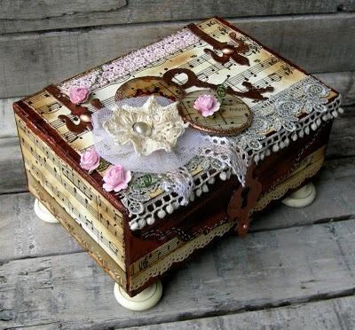 Декорирование коробок своими руками фото