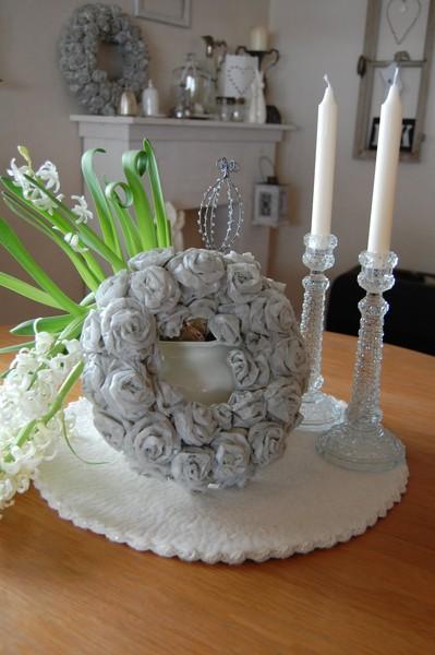 Фото бумажные розы