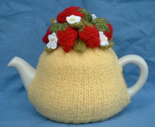 Вязание грелки на заварочный чайник