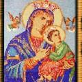 """Икона Пресвятой Богородицы  """"Всепомогающая """". на заказ, так же и другие иконы пример,возможны варианты."""