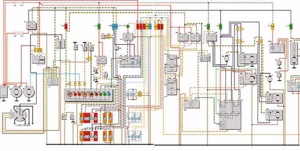 схема соединения двойной выключатель