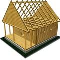 стропильная система двухскатной крыши - Практическая схемотехника.
