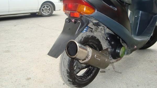 Тюнинг глушителя своими руками для скутера