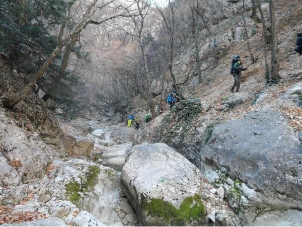 По Крымскому каньону!