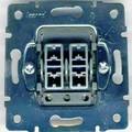 Двухклавишный выключатель с подсветкой Lezard Mira. поскольку выключатель двухклавишный и с подсветкой...