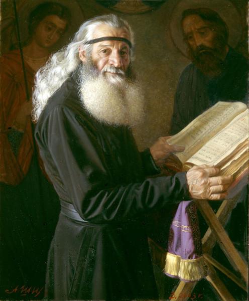 Фото Послушник Высоко-Петровского монастыря П.Я. Шейманидзе