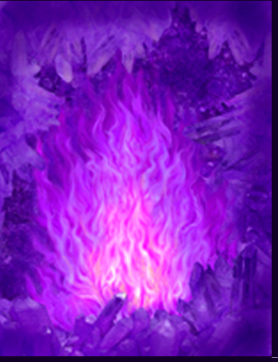 Фото Фиолетовое пламя