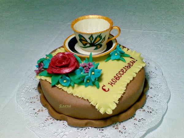 Фото тортов для новоселье