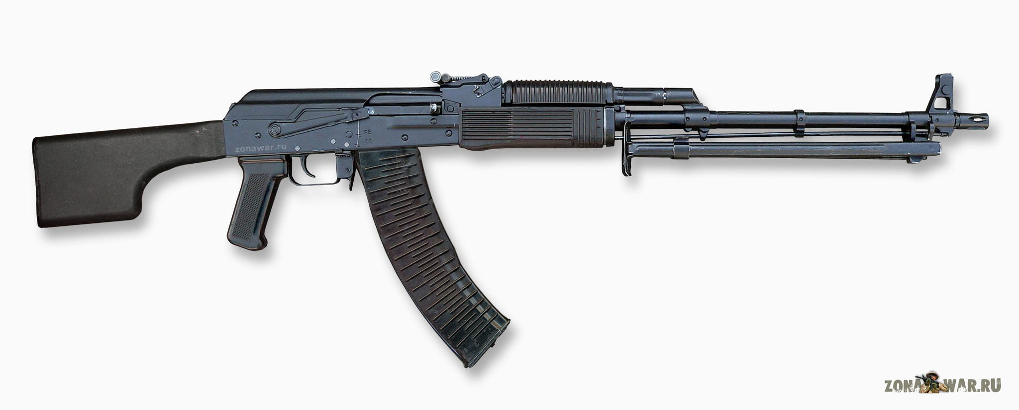 Kalashnikov machine gun: specifications and photos. Russian firearms 65