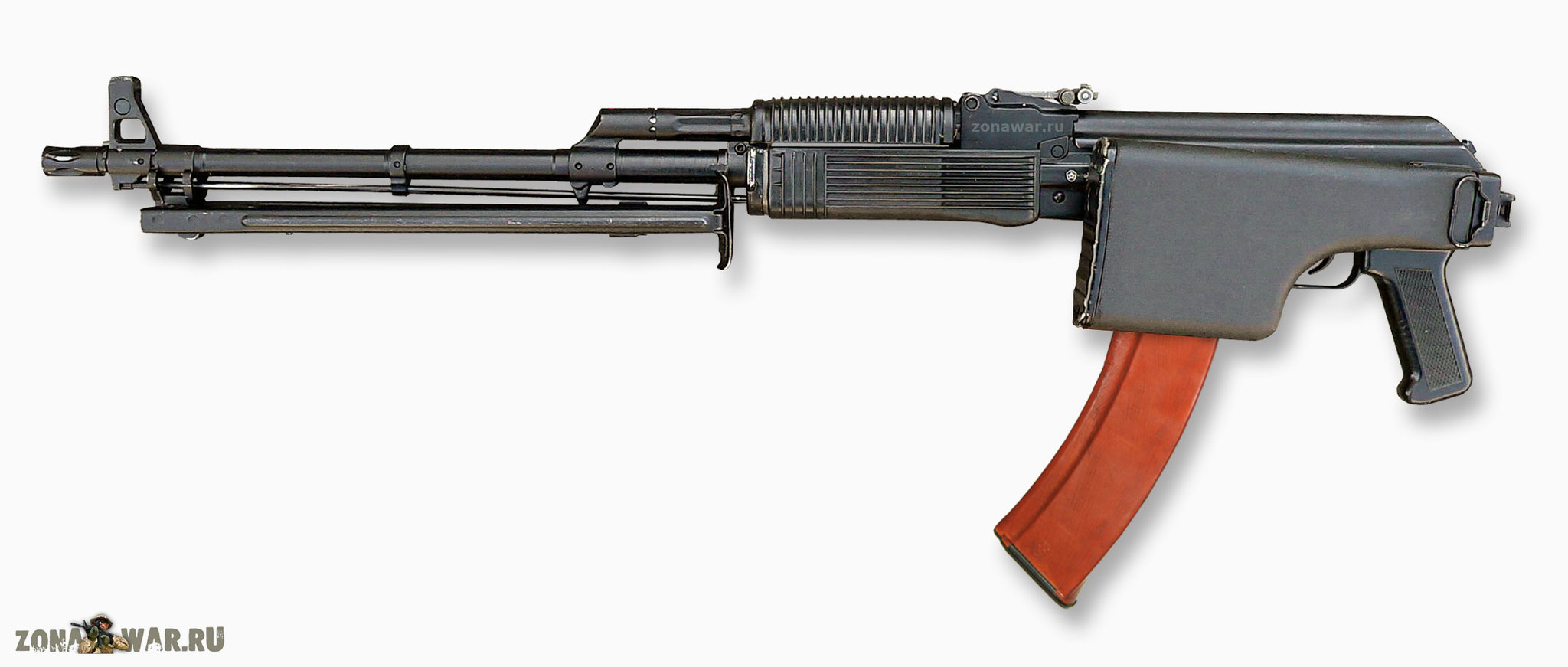 Kalashnikov machine gun: specifications and photos. Russian firearms 26