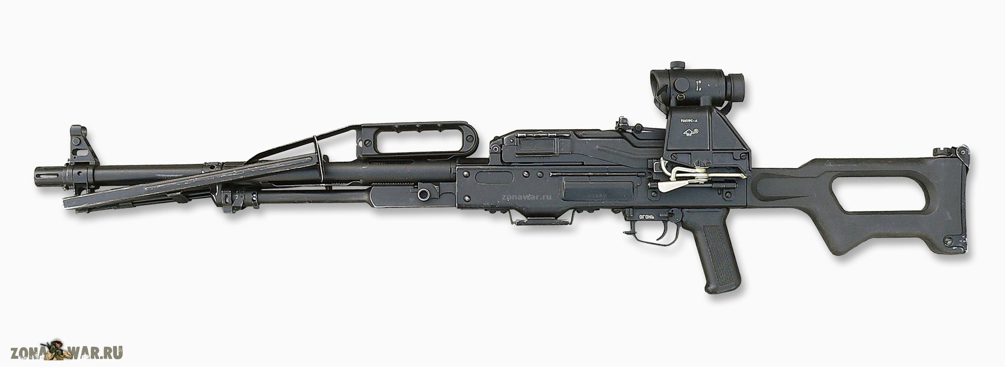 Kalashnikov machine gun: specifications and photos. Russian firearms 4