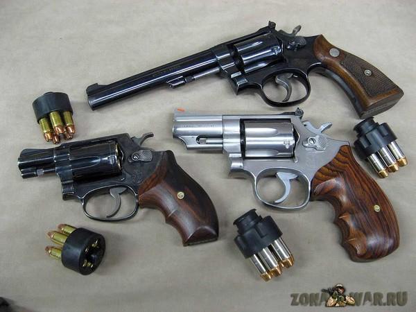 револьвер 366