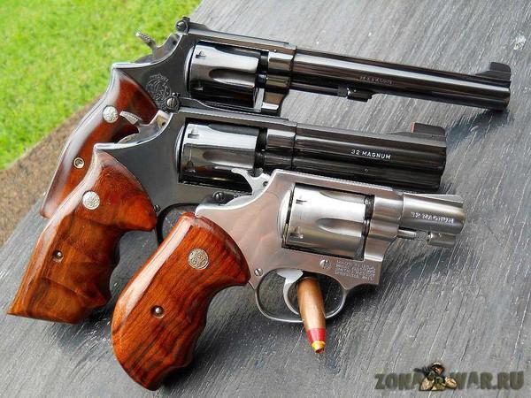 револьвер 418