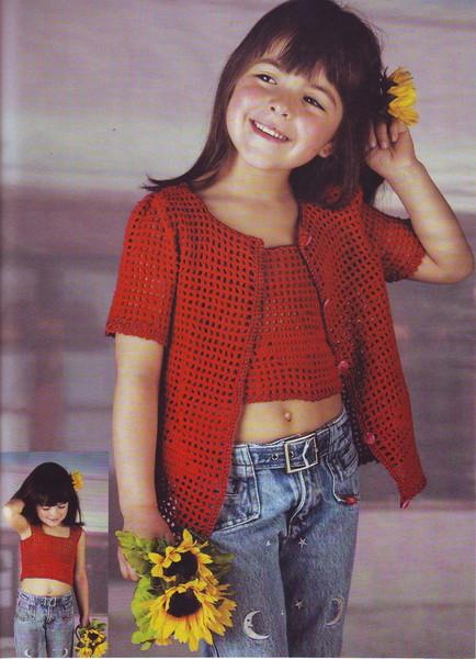 Вязание на спицах схемы для девочек 6лет.