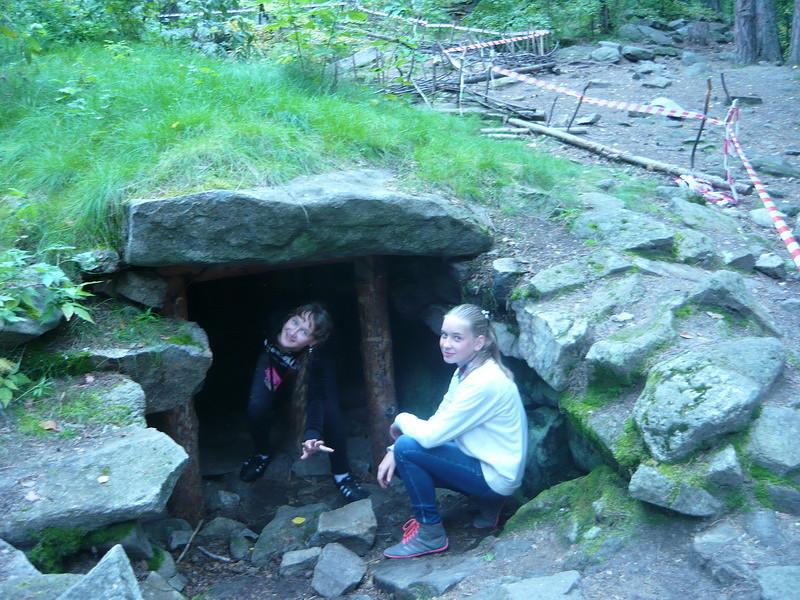 вход в пещеру (09.09.2013)